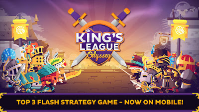 Hack cheat King's League Odyssey iOS No Jailbreak Required FREE