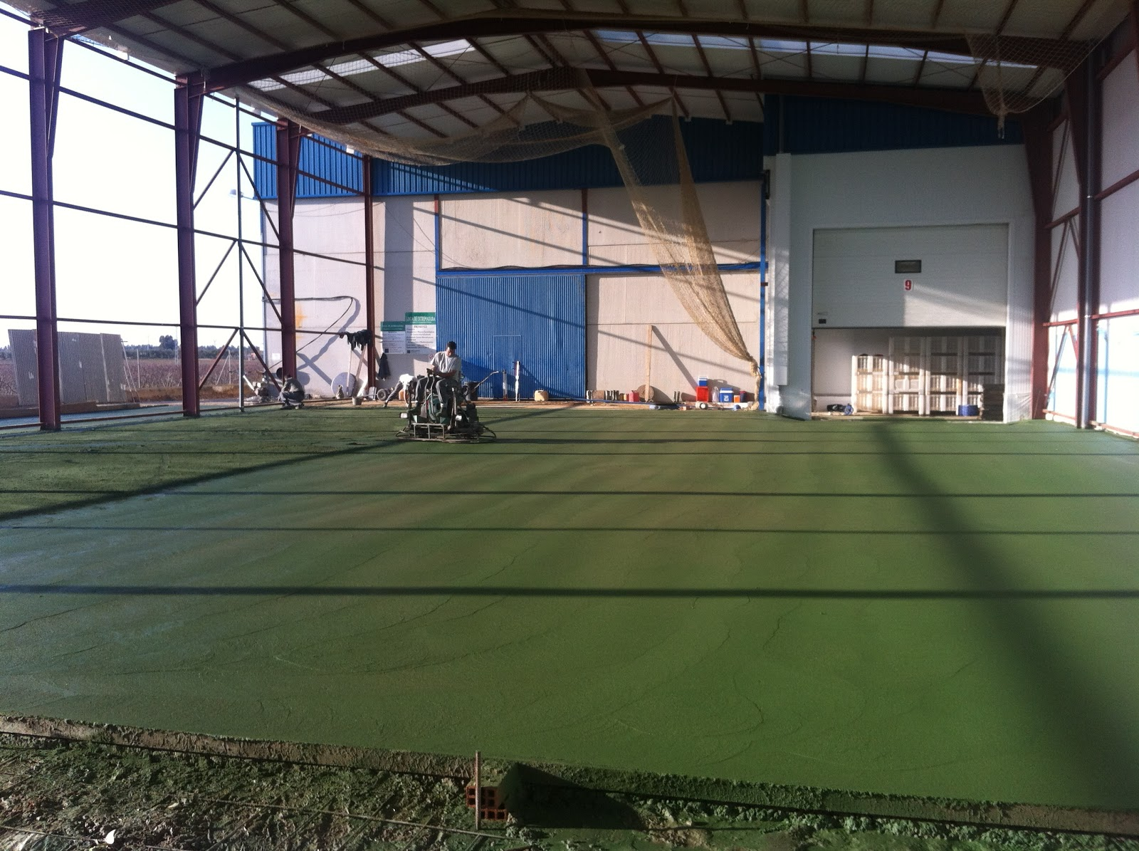 Bhetta pavimento pulido hormigon verde - Hormigon pulido colores ...