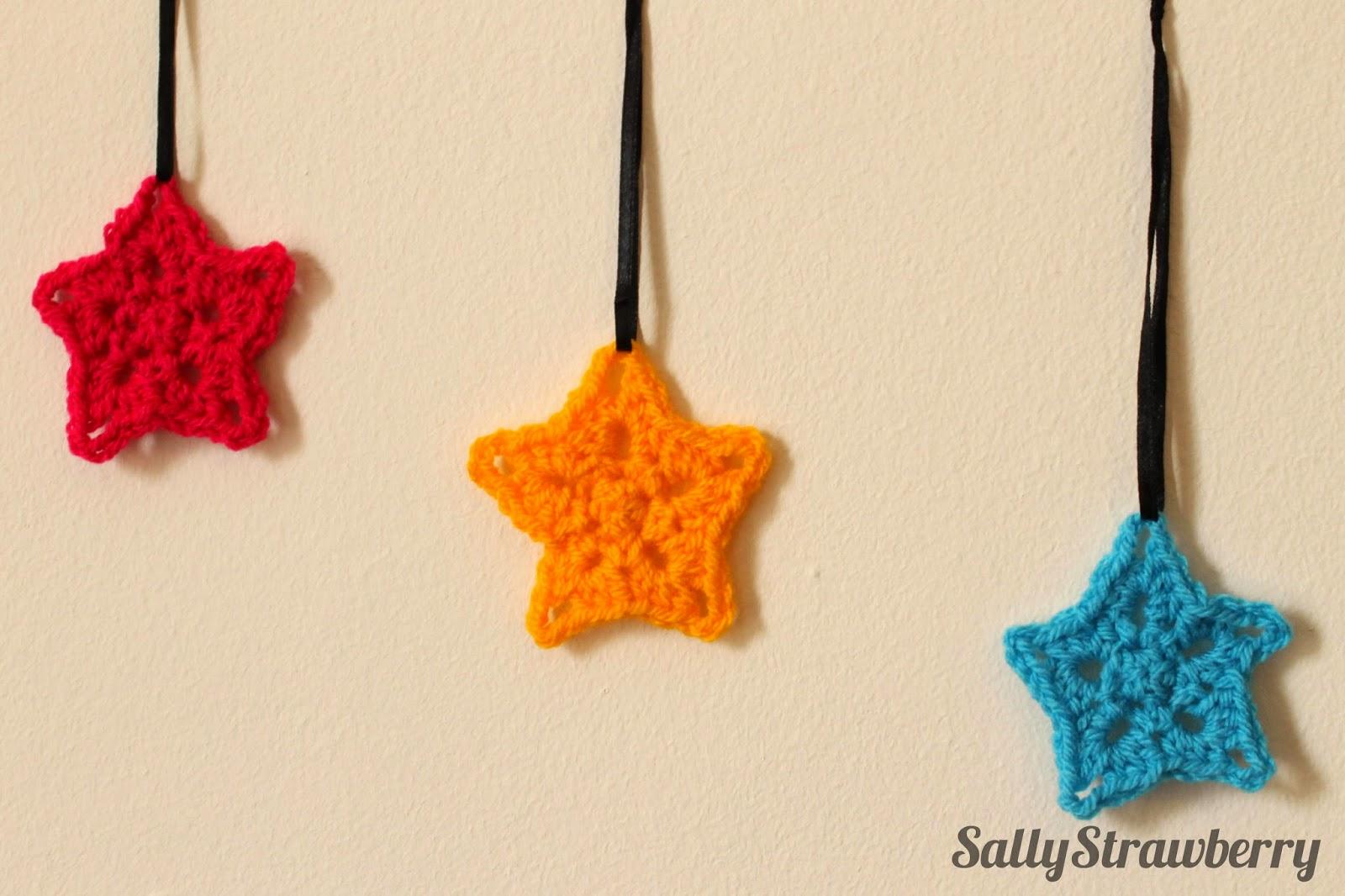 Easy Crochet Stars