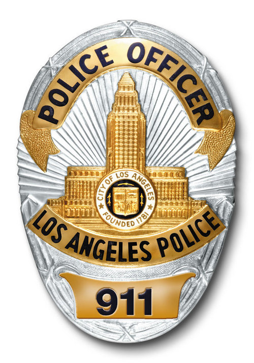 lapd badge - photo #2