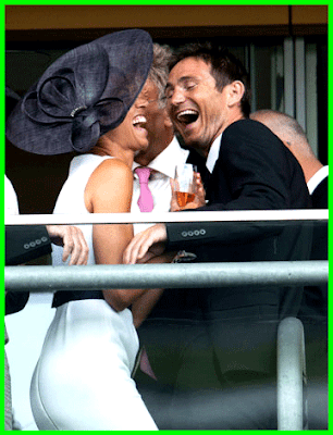 Frank Lampard and Christine Bleakley share kiss