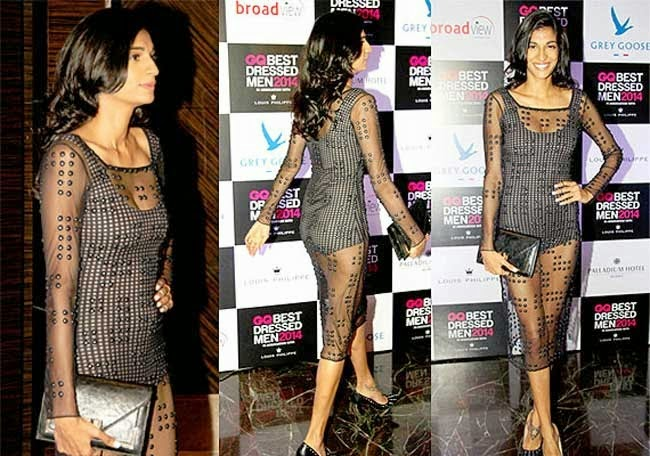 Anushka Manchanda At GQ India's Best Dressed Men 2014 Awards