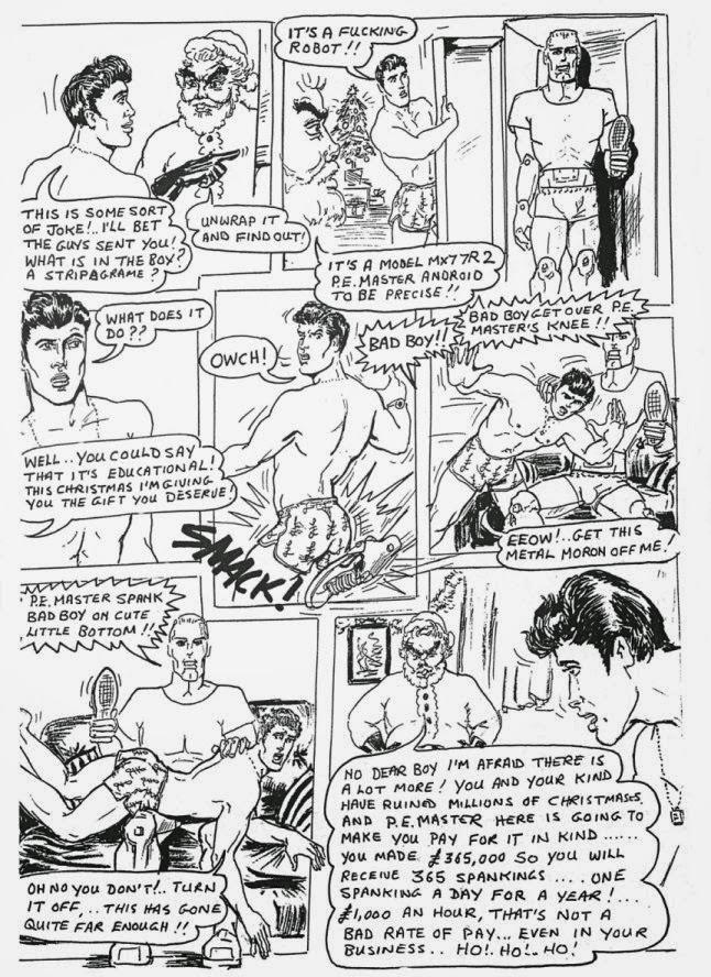 Spanking cartoons Gay