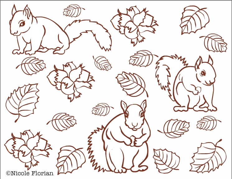 Free Autumn Coloring Pages for Adults 1080p