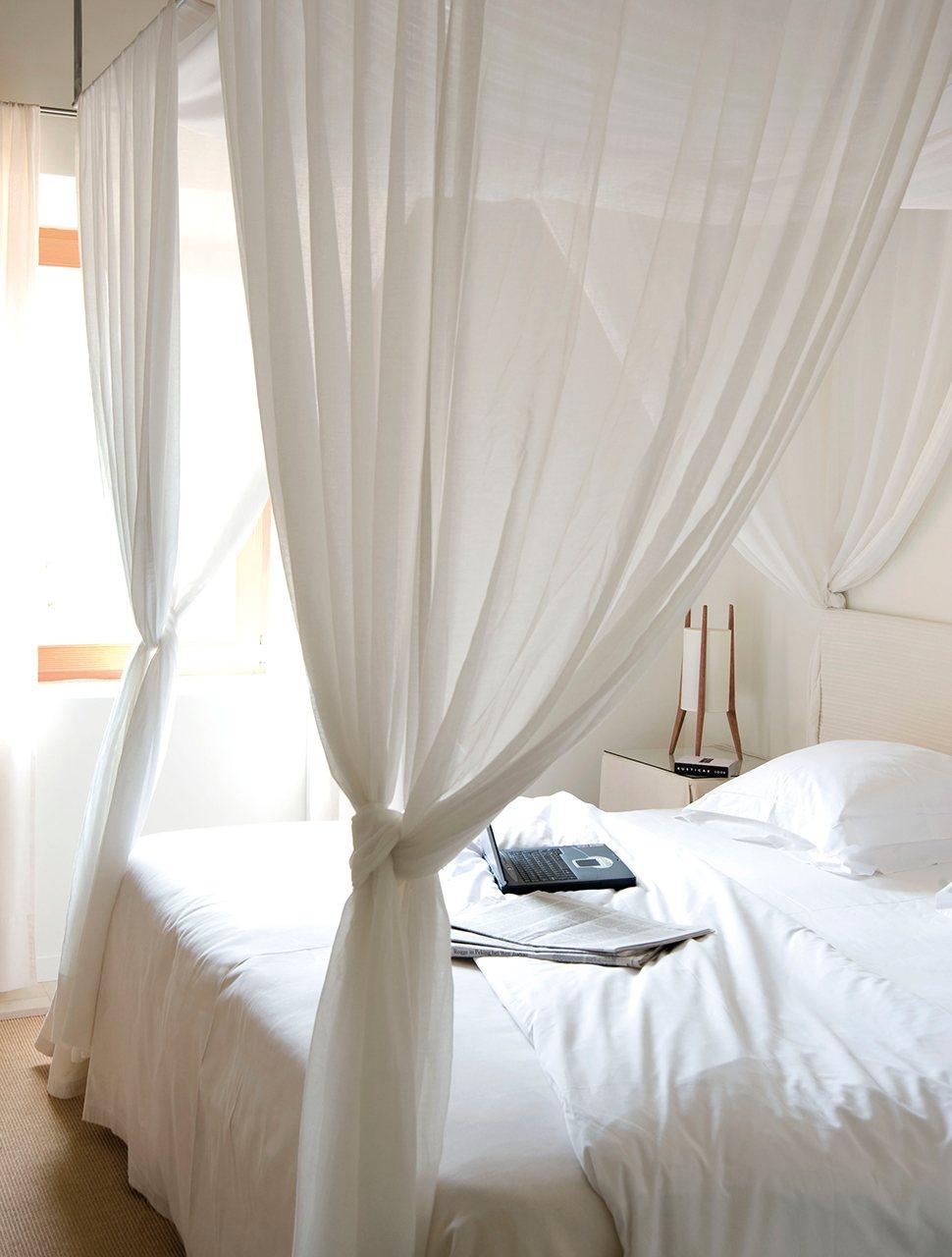 10 camas con dosel decoraci n retro - Cortinas para cama ...