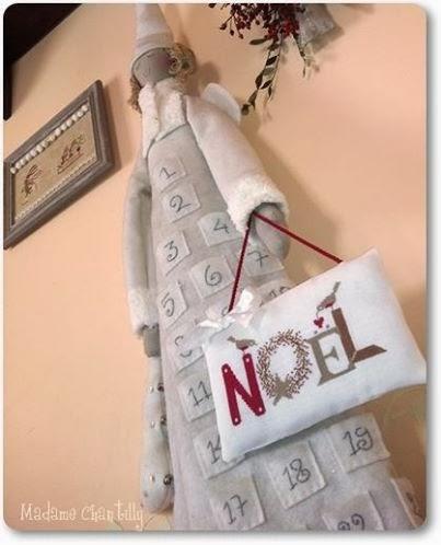 Grille de Noël de Madame Chantilly Noel+free