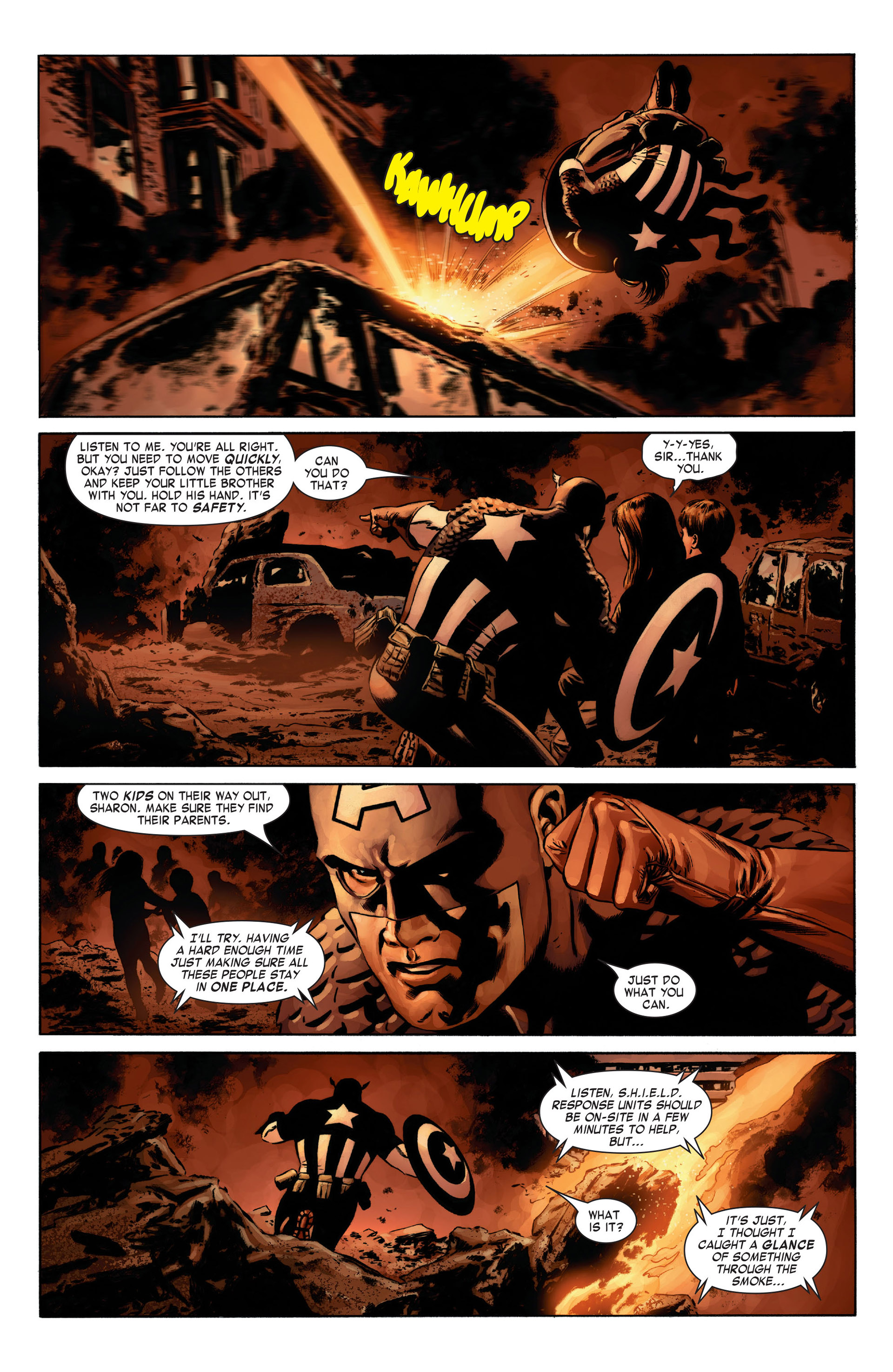Captain America (2005) Issue #8 #8 - English 6