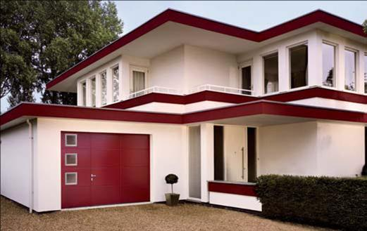 Le blog de dossier portes de garage for Porte de garage couleur bordeaux