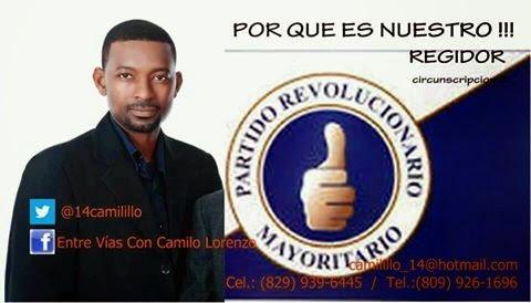 Camilo Lorenzo regidor