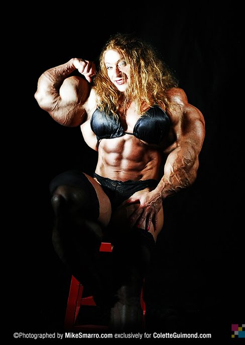 Colette Guimond Female Muscle Morph Bodybuilding Fitness Blog