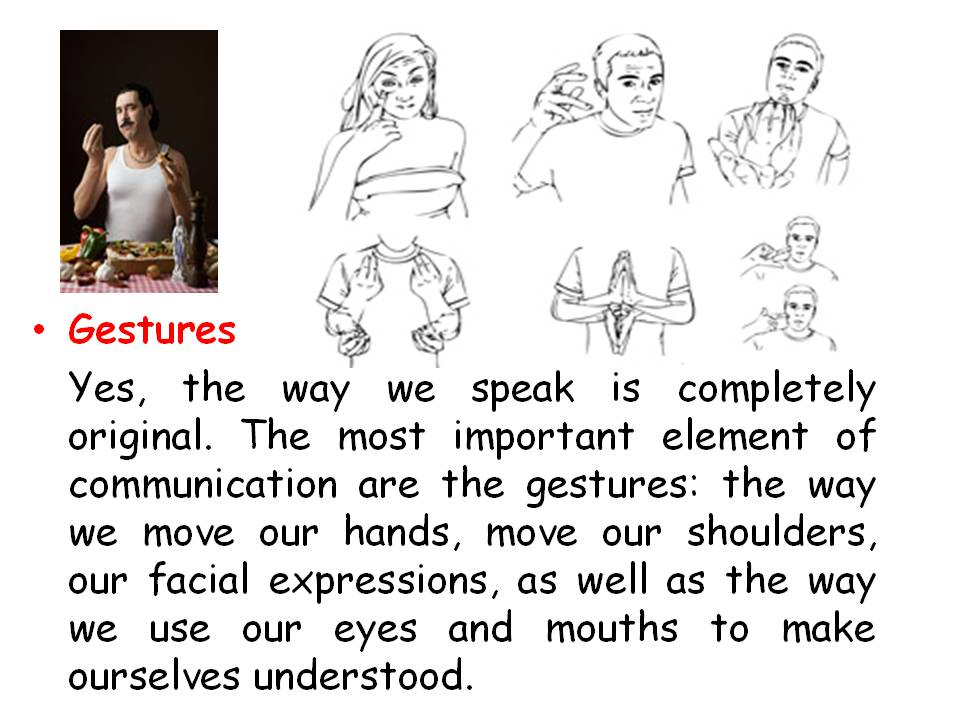 italian non verbal communication Define nonverbal communication 2  although there are rules governing the use of non-verbal communication, a formal grammar or syntax does not exist.