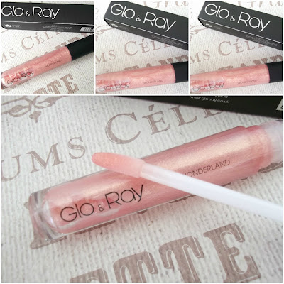 Glo & Ray wonderland lip gloss review, www.thelavenderbarn.blogspot.co.uk