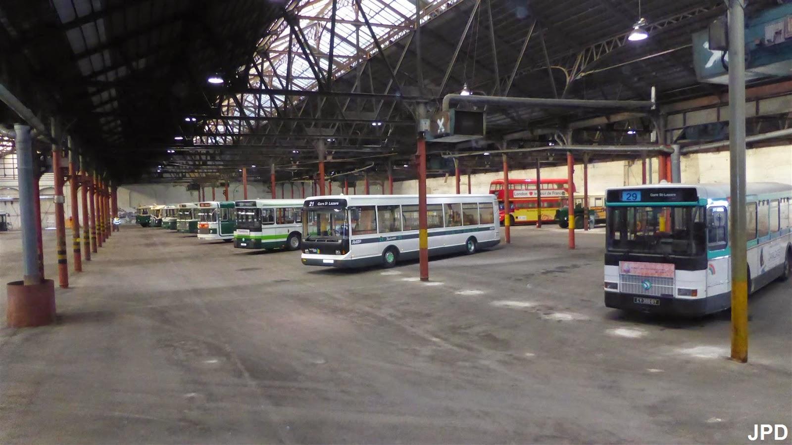 Paris-bise-art : RATP Métro - bus - La réserve de ...