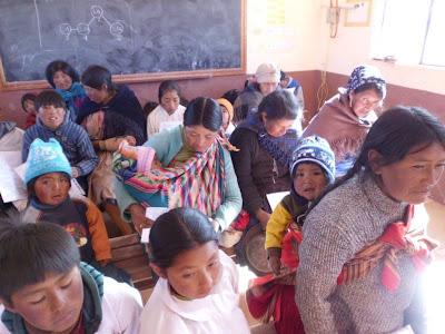 Auch viele Kinder waren zum Gottesdienst gekommen