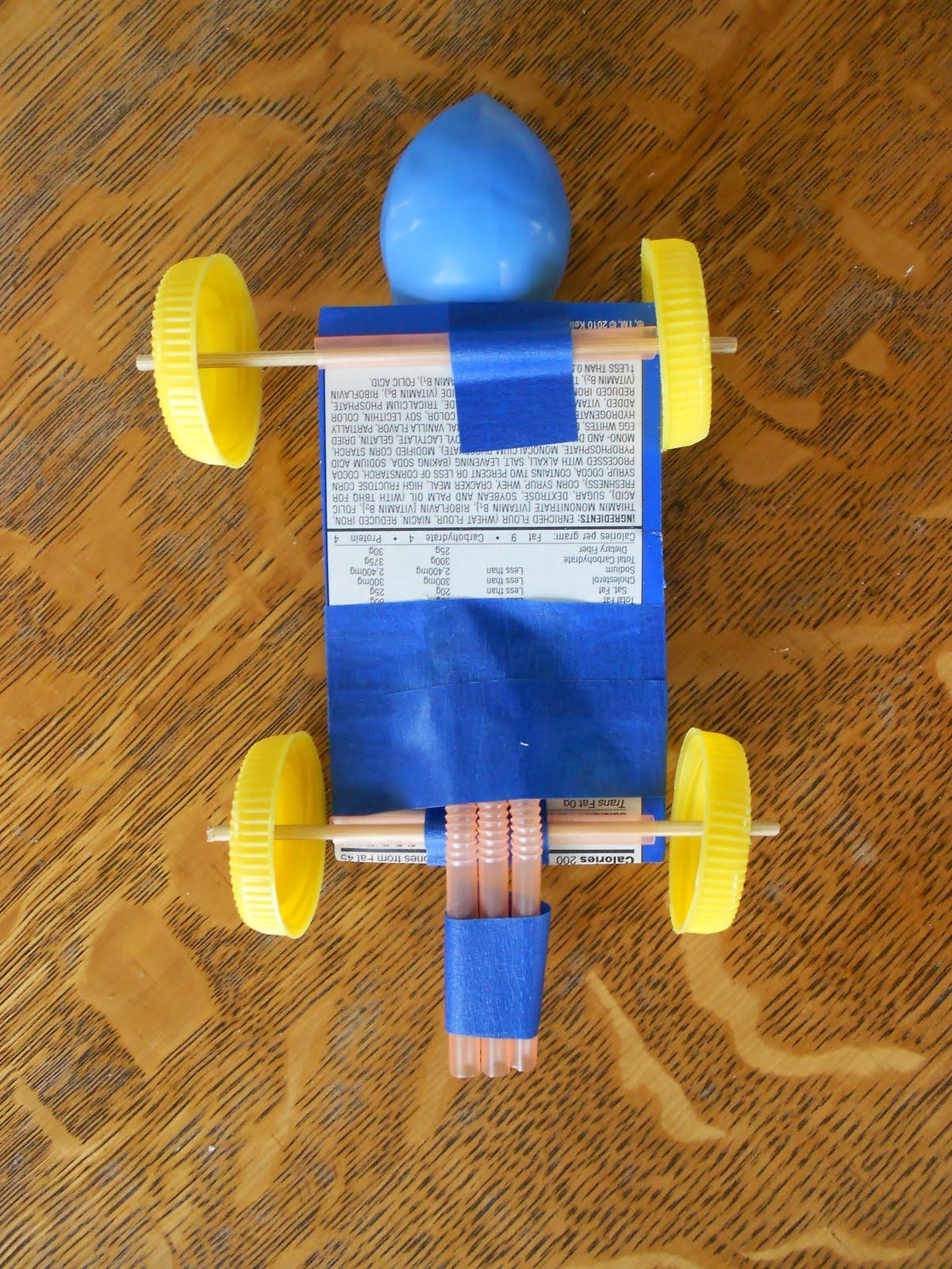 balloon rocket car research paper