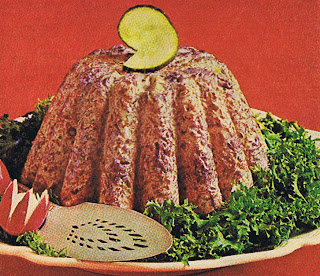Corned beef and cabbage mousse from 1973 Family Circle Magazine.