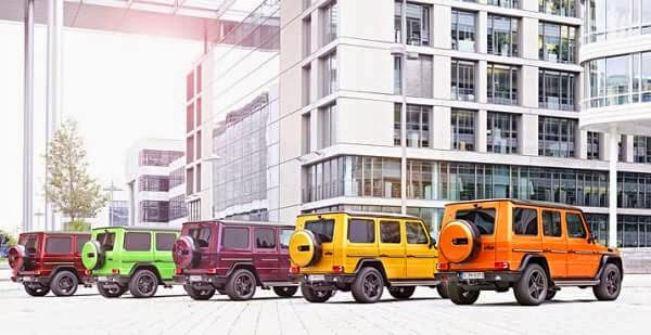 "Mercedes G 63 AMG y G 65 AMG ""Crazy Color"""