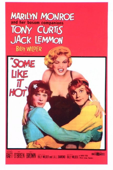 movie poster for    Some Like it Hot  Wednesday, October 29th at 8:00PM screening