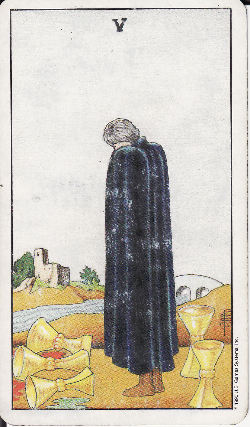 5 FIVE OF CUPS V