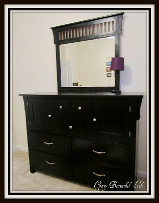 Dress That Dresser Up (refinished dresser)