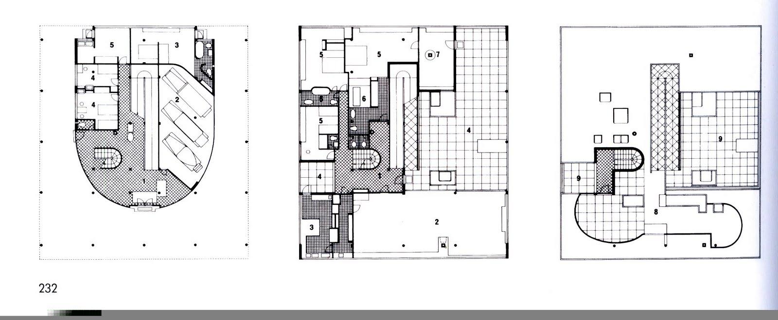 Villa Savoye Le Corbusier Floor Plan b2-plan villa savoye.j...