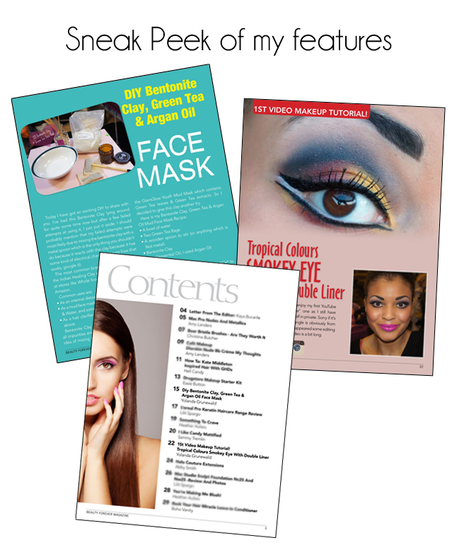 Pink and Leopard Prints Beauty Blog Featured in Beauty Forever Magazine