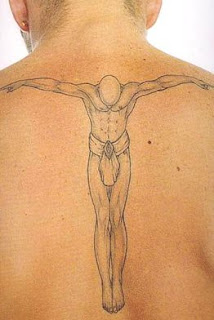 Angel Back Tattoos Designs