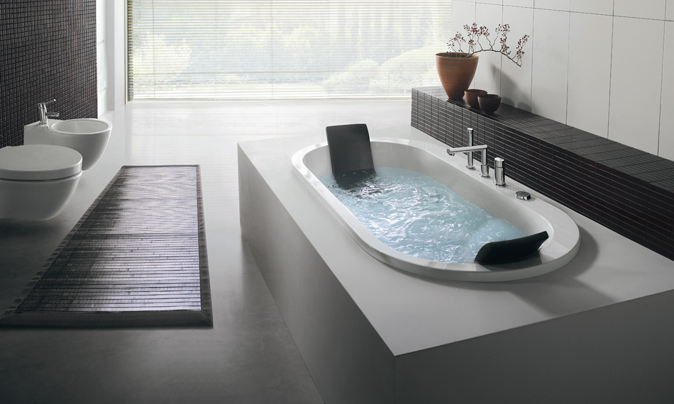 Modern bathtubs for Bathroom jacuzzi ideas
