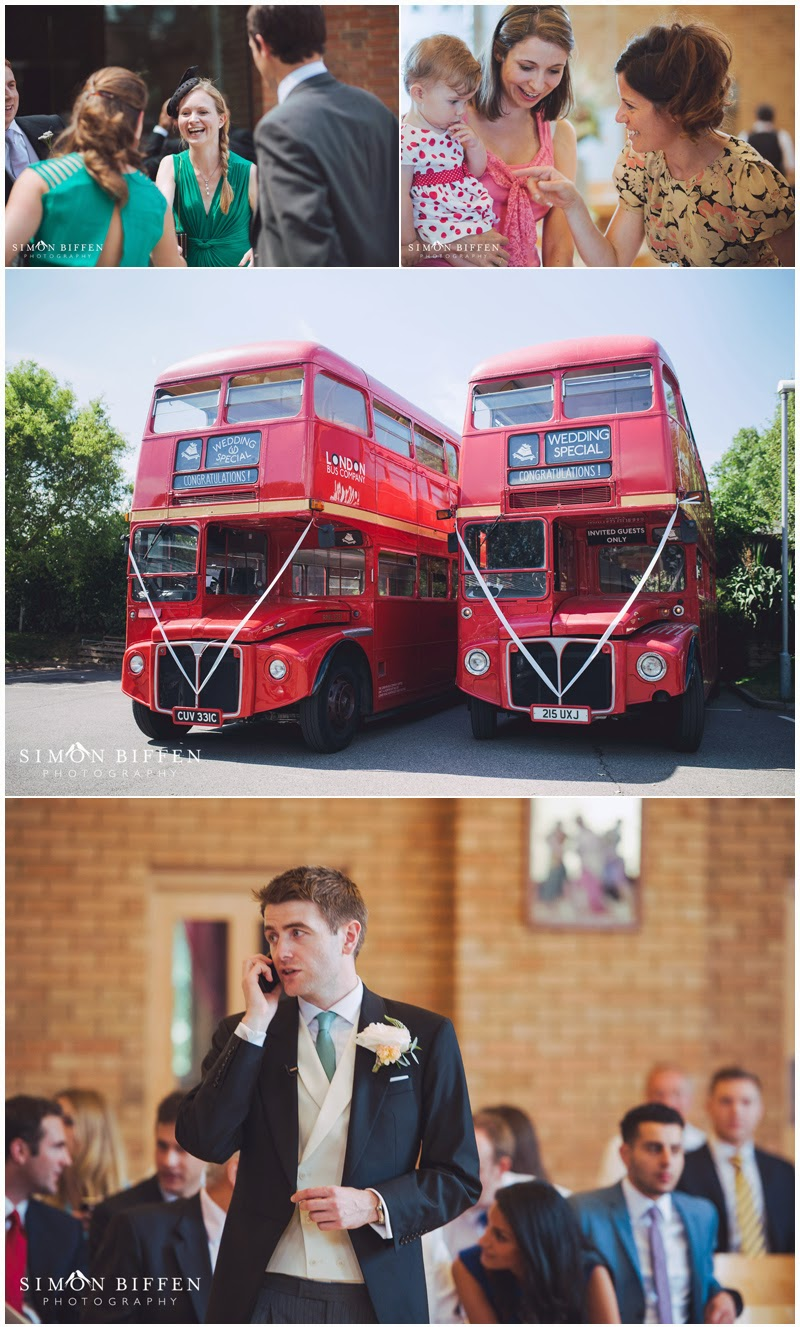 pre wedding and route master buses