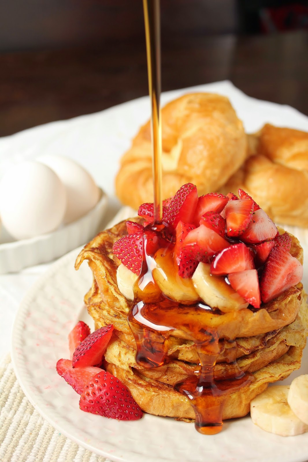 Baking with Blondie : Croissant French Toast