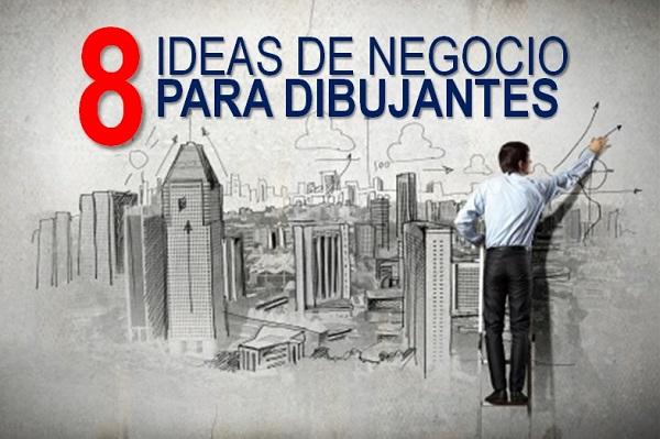 ideas de negocios para dibujantes