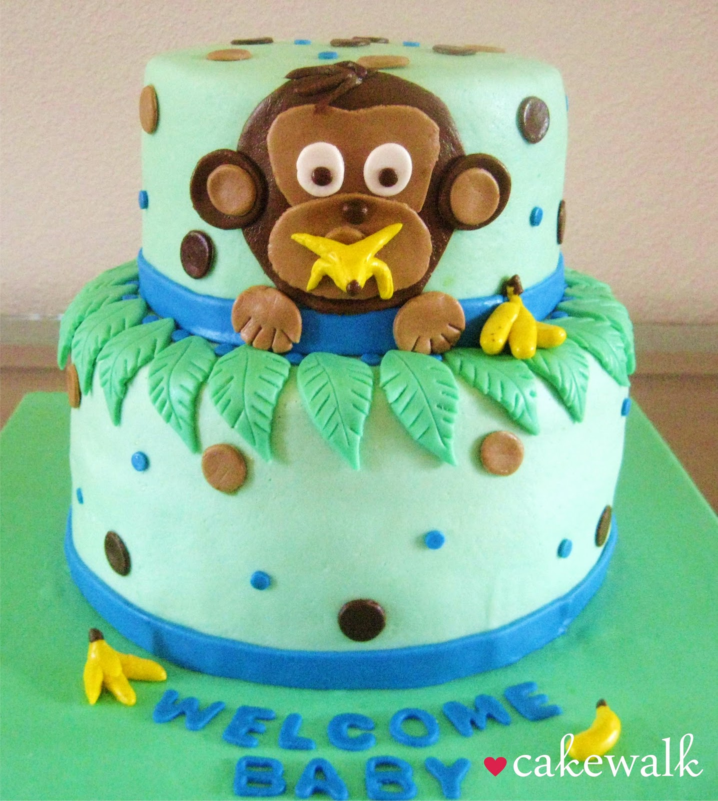 monkey cake baby shower cakes baby shower ideas monkey baby showers