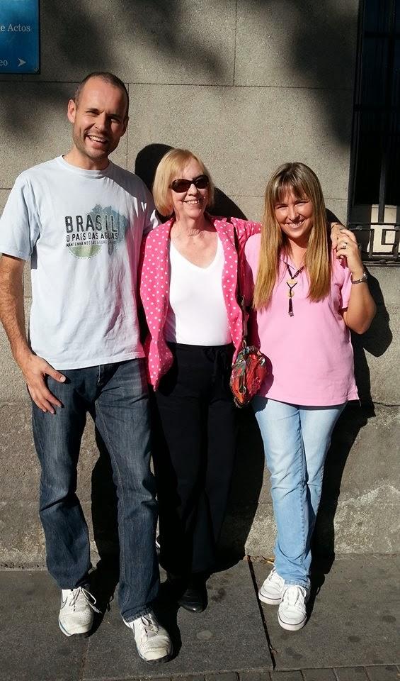 Junto a ¡¡ Karen Pryor !!. Una auténtica eminencia en el entrenamiento animal.