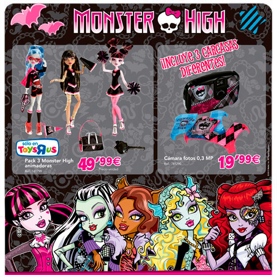 Nuevo catalogo de monster high en toys rus