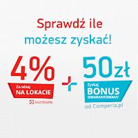 Comperia Bonus 4 Eurobank lokata premia 50 zł