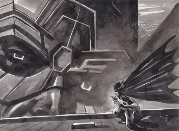 Egon Longshanks: Daily Dose of Awesome: Batman vs. Galactus