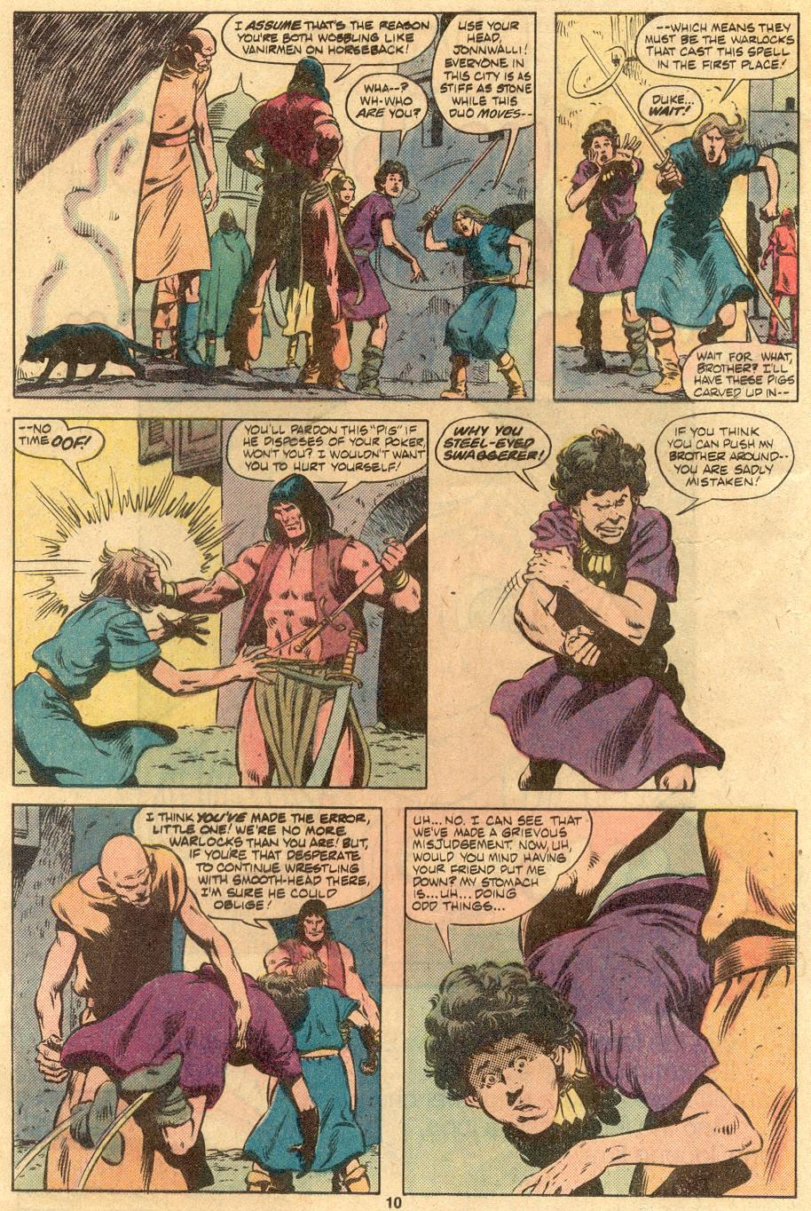 Conan the Barbarian (1970) Issue #122 #134 - English 8