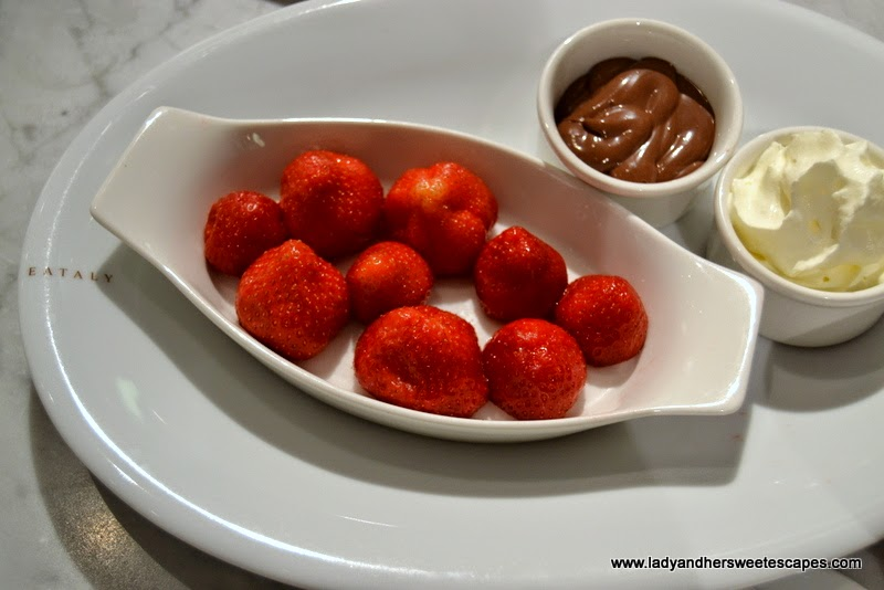 Fragola e Nutella in Eataly Dubai