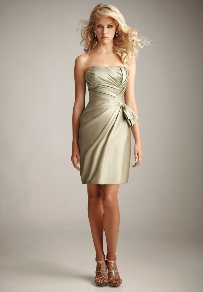 Whiteazalea sheath dresses for Short sheath wedding dress