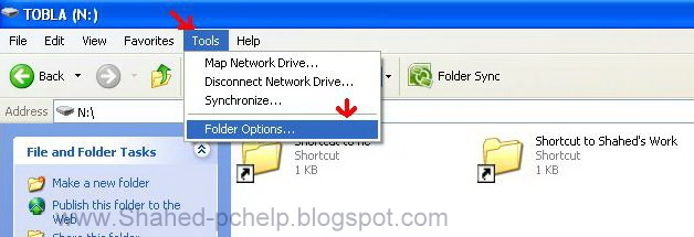 how to delete system volume information from pen drive