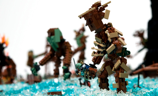 Lego Marsch der Ents