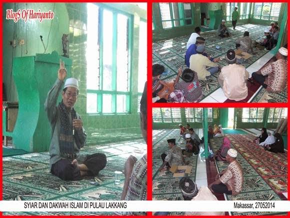Syiar dan Dakwah Islam di Pulau Lakkang