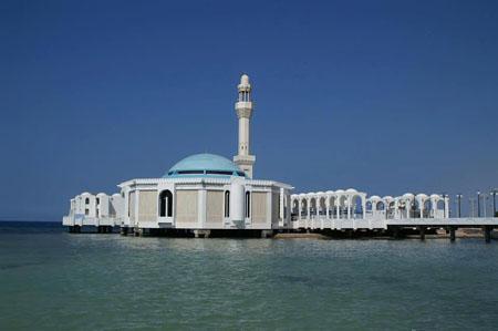 المسجد العائم بجدة المسجد العائم