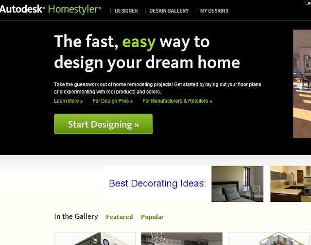 A tutorial membuat desain interior ruang anda secara gratis for Home style com