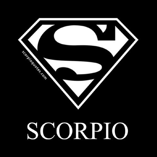 Scorpio Superman Logo Quotes