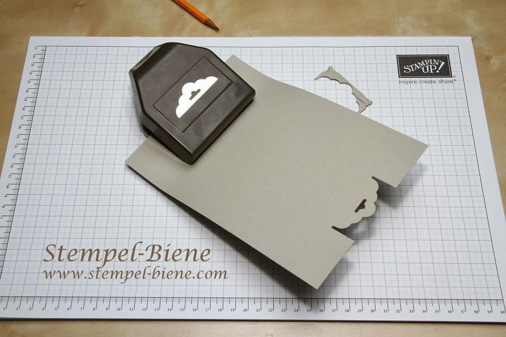 Stampin Up Stanze : stempel biene anleitung karte mit stampin up stanze gewellter anh nger ~ Frokenaadalensverden.com Haus und Dekorationen