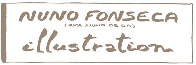 NUNO FONSECA aka Nuno De Da (illustration / ilustração)