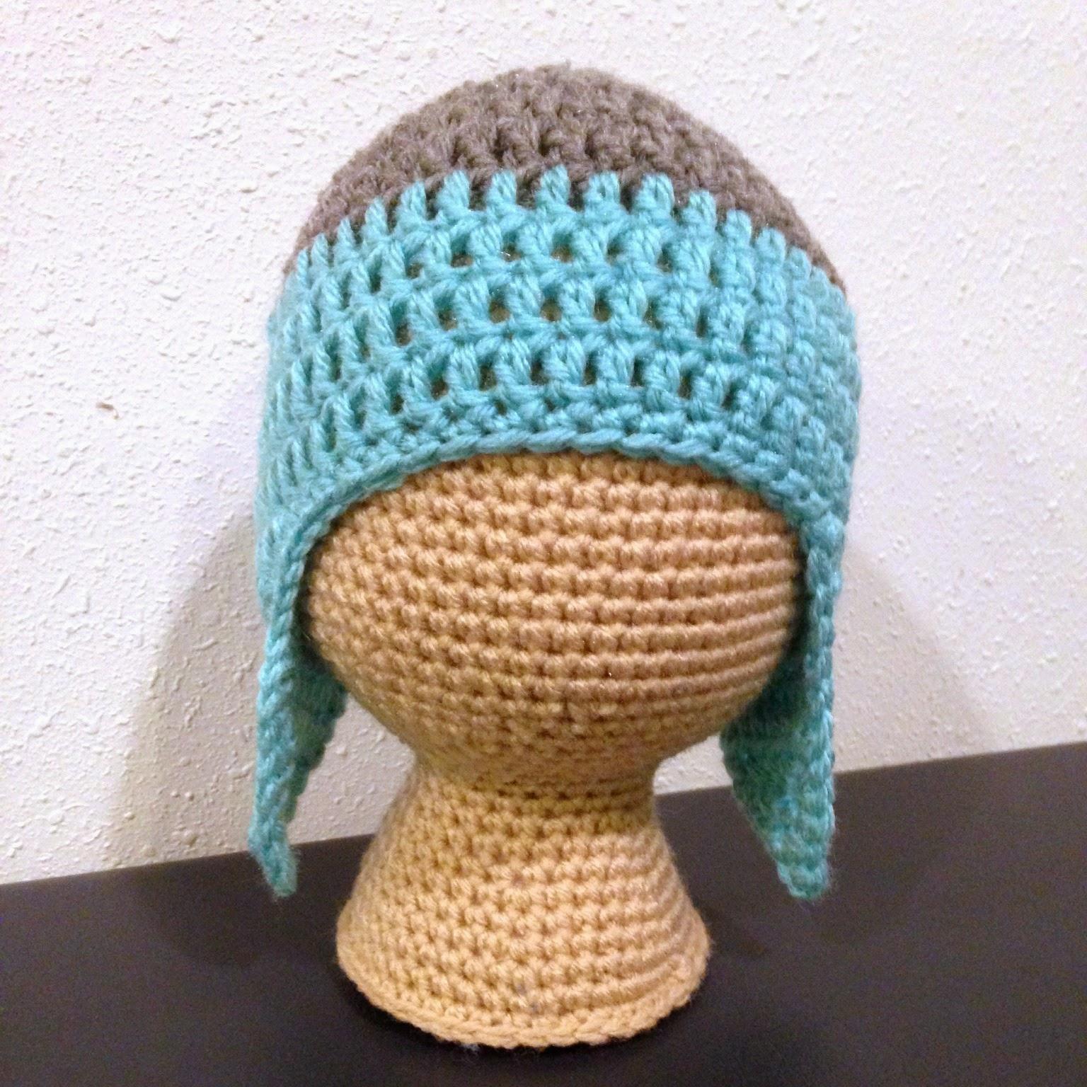 5 Little Monsters: Free Crochet Pattern- Crochet Mannequin Heads