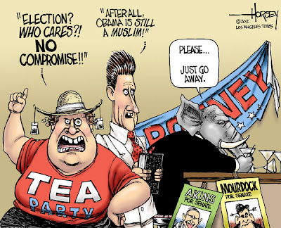 2012 Election cartoon