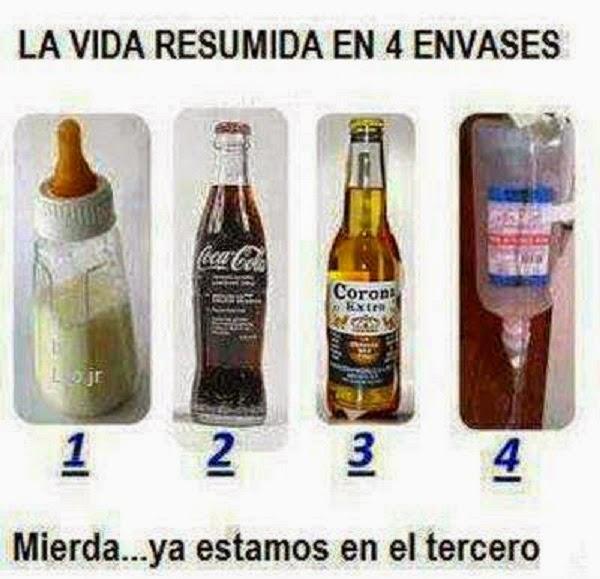 La vida en 4 envases